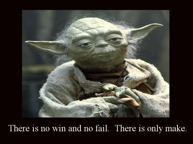 Yoda Makes