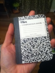 Notebook.  Fun size!